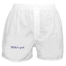 Mike's girl Boxer Shorts