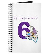 Little Bookworm Custom Age Journal