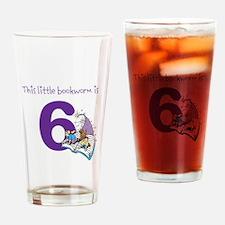 Little Bookworm Custom Age Drinking Glass