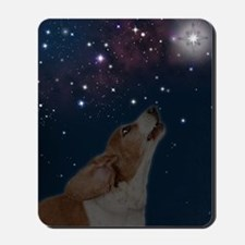 O Howly Night Front Mousepad