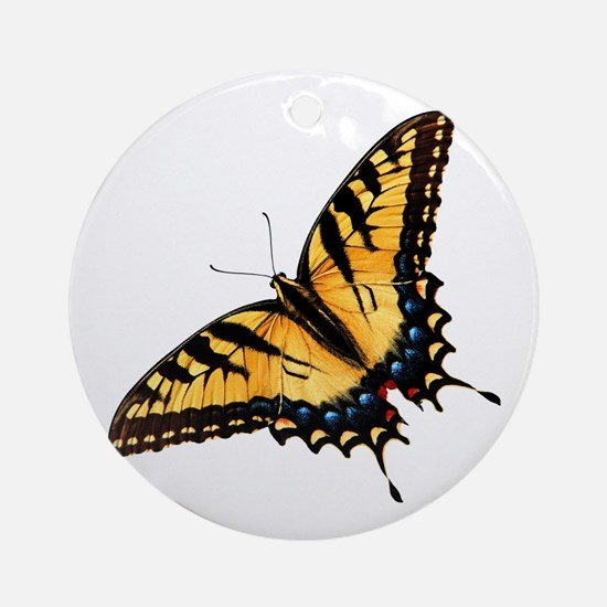 tigerSwallowtail45 Round Ornament