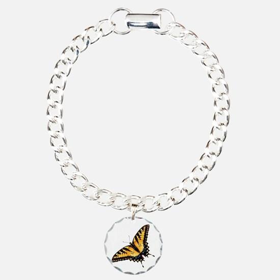 tigerSwallowtail45 Charm Bracelet, One Charm
