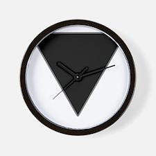 black-triangle_tr2 Wall Clock