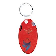 Paul Klee Flower Myth Keychains