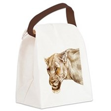 lioness1 Canvas Lunch Bag