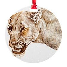lioness1 Ornament