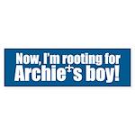 ARCHIE'S BOY Bumper Sticker
