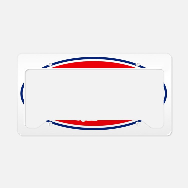 PitMasterrOval License Plate Holder