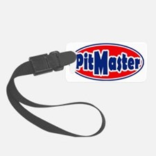 PitMasterrOval Luggage Tag