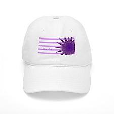 purple flower FUNtainer food omi lee Baseball Cap