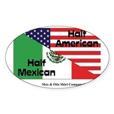 mexican-american Bumper Stickers