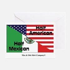 mexican-american Greeting Card