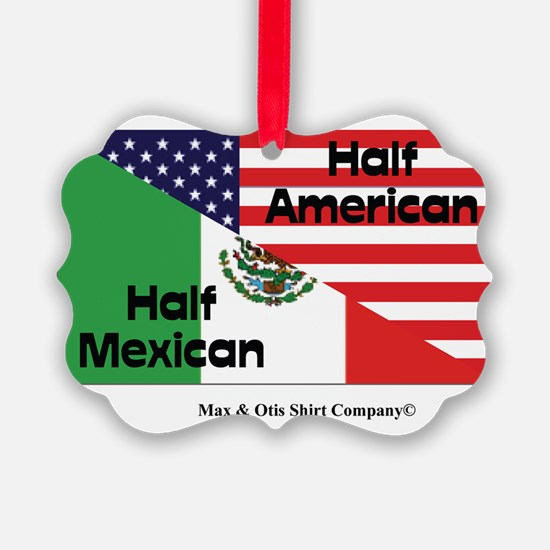 mexican-american Ornament