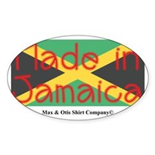 made-in-jamaica-flag Decal