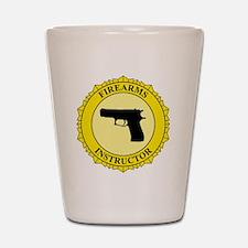 Firearms Instructor Shot Glass