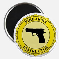 Firearms Instructor Magnet