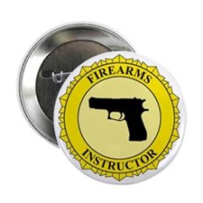 """Firearms Instructor 2.25"""" Button"""