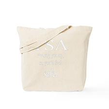 10x10trans_TSA_feeling Tote Bag