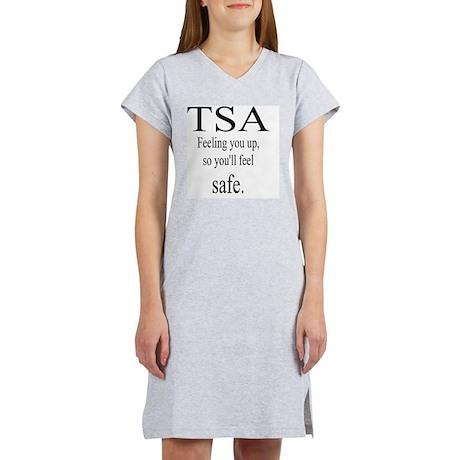 10x10_TSA_feeling Women's Nightshirt