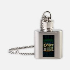 lost iphone 3 copy Flask Necklace