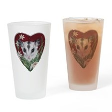 marcell heart cutout Drinking Glass