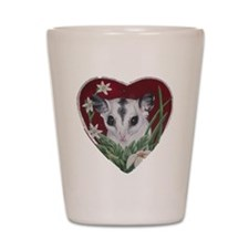marcell heart cutout Shot Glass