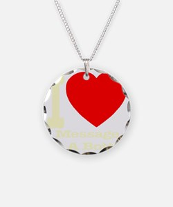 iheart_message_in_a_bottle_i Necklace Circle Charm