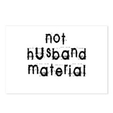 Not husband... Postcards (Package of 8)