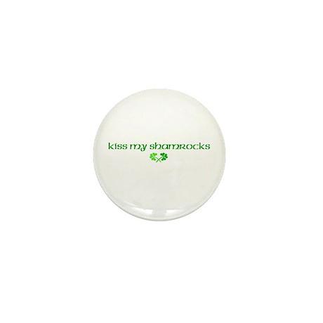 Kiss My Shamrocks Mini Button (10 pack)