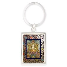 chenrizig-thangka-big Portrait Keychain