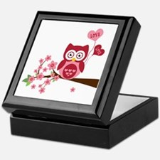 Love You Owl Keepsake Box