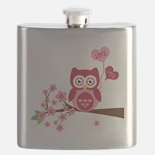 Love You Owl Flask