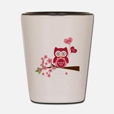 Love You Owl Shot Glass