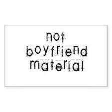 Not boyfriend... Rectangle Decal