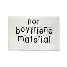 Not boyfriend... Rectangle Magnet