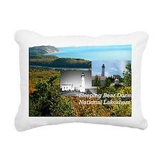 sleepingbear1b Rectangular Canvas Pillow