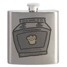 Bun in the Oven-no words Flask