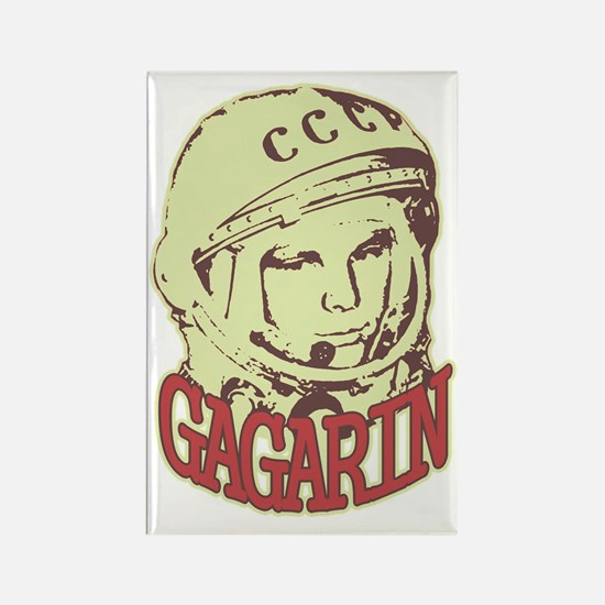 gagarin Rectangle Magnet