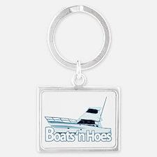 boats1 Landscape Keychain