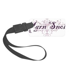 yarn snob Luggage Tag