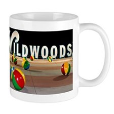 Wildwoods Sign Wildwood New Jersey Mug