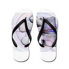 LumbBlu1 Flip Flops