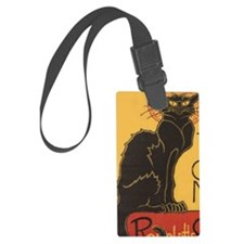 Steinlens Black Cat Luggage Tag