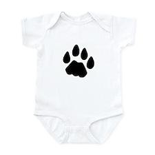 Cat Tracks Infant Bodysuit