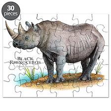 Black Rhinoceros Puzzle