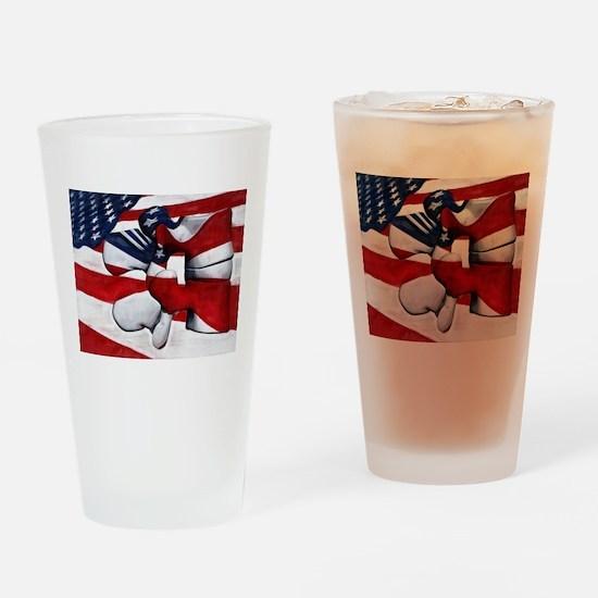 LumFlag Drinking Glass