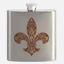 FilagreeGoldLfleur1TR Flask
