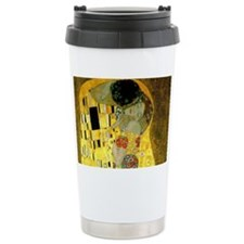 The Kiss by Klimt Travel Mug