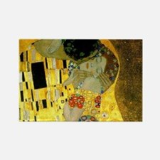 The Kiss by Klimt Rectangle Magnet