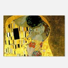 The Kiss by Klimt Postcards (Package of 8)